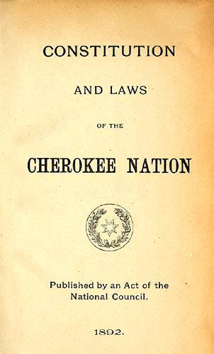 cherokee language essay