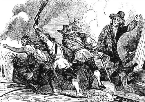 Colonial Era Indian Wars, Battles, and Massacres