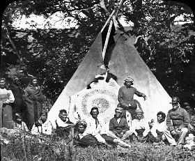 Omaha Scouts in 1865