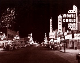 Downtown Las Vegas, 1948