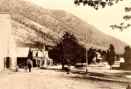 Genoa, Nevada in 1890