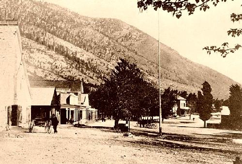 Genoa, Nevada in 1890