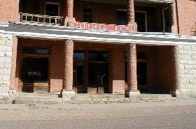 The Goldfield Hotel today