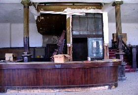 Inside the Goldfield Hotel