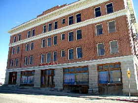 Goldfield Hotel, Goldfield, Nevada, 2005. Photo by Kathy Weiser