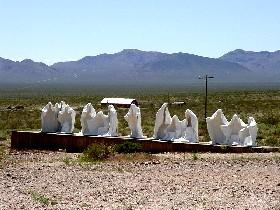 Rhyolite, Nevada Art