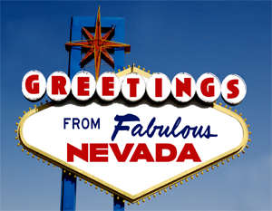 Greetings From Nevada Postcard