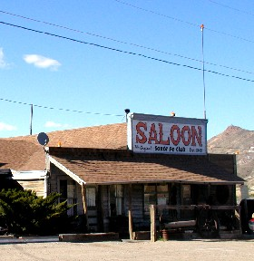 Santa Fe Saloon in Goldfield, Nevada