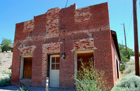 Commercial building in Silver City, Nevada