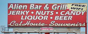 Alien Bar & Grill (Brothel), Amargosa Valley, Nevada