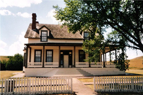 Custer House, Fort Abraham Lincoln, North Dakota