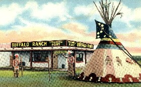Buffalo Ranch in Afton, Oklahoma