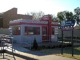 Valentine Diner in Clinton, Oklahoma