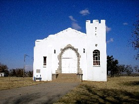 Fort El Reno Chapel today