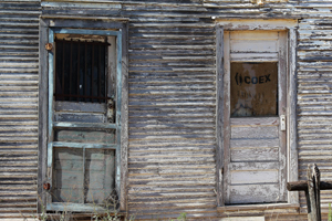 Ingalls, Oklahoma doors by David Fisk