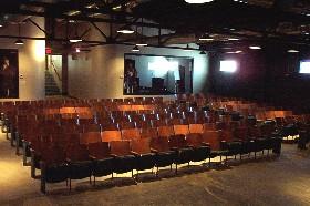 Inside the Tulsa Little Theatre, photo courtesy of Tulsa Little Theatre