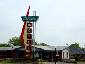 Skyliner Motel in Stroud Oklahoma