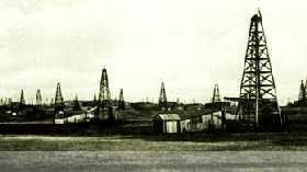 Oklahoma Oil Field