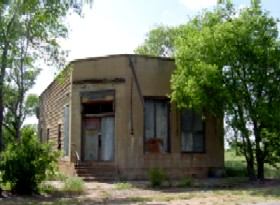 Texola Oklahoma Abandoned Business