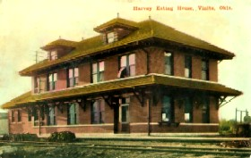 Harvey House in Vinita, Oklahoma