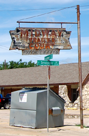 Midway Trailer Court Sign