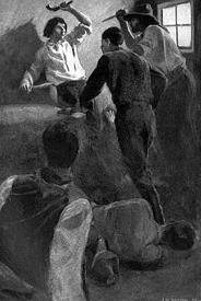 Bill Hickok's fight at Rock Creek