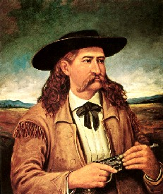 Bill Hickok Painting