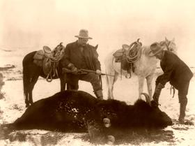 Buffalo Hunters, P.H. Kellogg, 1903