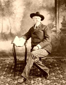 Buffalo Bill Cody in 1907