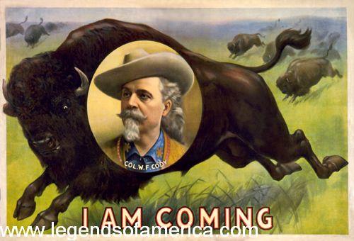 Buffalo Bill's Wild West, 1900