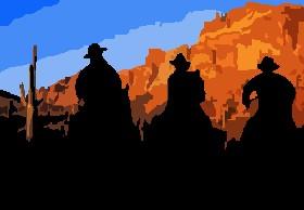 Cowboys Silouette