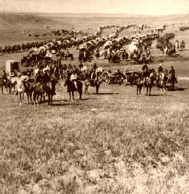 Custer's Camp prior to the Battle of the Little Bighorn