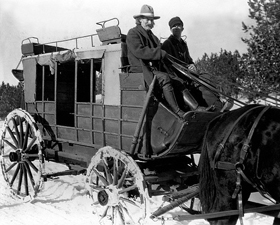 Deadwood, South Dakota Stagecoach