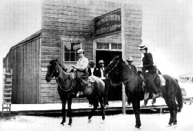 Wyatt Earp's Saloon in Tonapah, Nevada