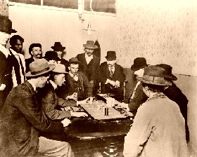 Playing Faro in 1900