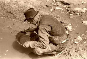 Gold Panning in the American West