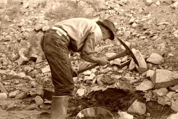 the effects of historic gold mining There are different phases of a mining project, beginning with mineral ore exploration and placer mining is usually aimed at removing gold from stream.