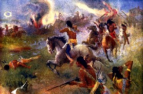 Indian War Painting