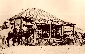 Judge Roy Bean's Jersey Lilly Saloon in Langry, Texas
