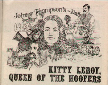 Johnny Thompon's Daily, Story on Kitty Leroy, courtesy Genealogy Images of History