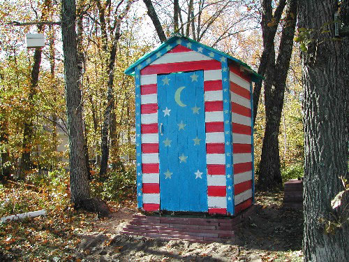 Marvelous Outhouse Readers Stories And Photographs Largest Home Design Picture Inspirations Pitcheantrous