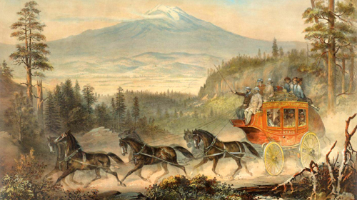 Mountain Stagecoach