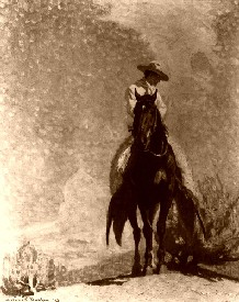 The Range Rider by W. Herbert Dunton, 1913