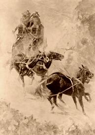 Wild stagecoach