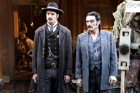 HBO Deadwood's Seth Bullock and Al Swearingen
