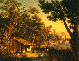 Settler's First Blockhouse
