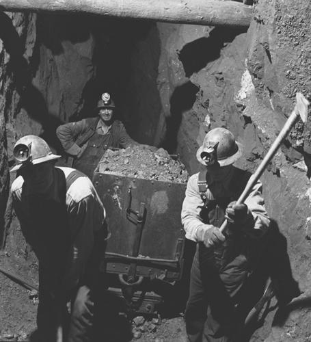 Miners Colorado Miners in Creede Colorado