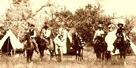 Texas Rangers in San Saba County