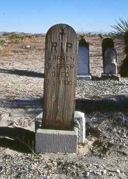 Morgan Earp Grave