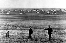 Railroad surveyors, 1861